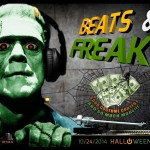 Beats & Freaks Flyer (Front)
